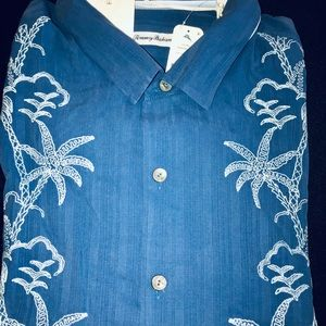 Tommy Bahama Short Sleeve Silk Shirt